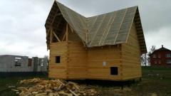 Анонс: Как построить дом из бруса без ошибок