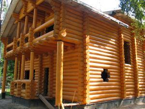 Строительство деревянных загородных домов и бань