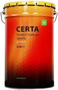Термостойкая краска по металлу Certa 1000