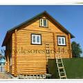 Фото 3: Сруб деревянного дома под ключ