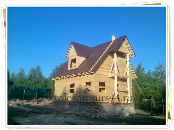 Фото Строительство деревянных домов из бруса