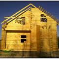 Фото 2: Строительство дома с двумя эркерами