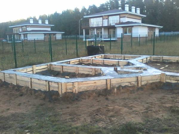 Фото Строительство фундамента под баню