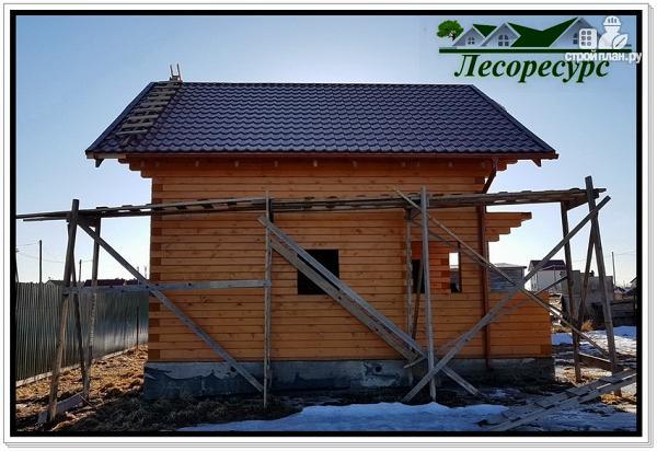 Фото 18: проект баня дом из бруса