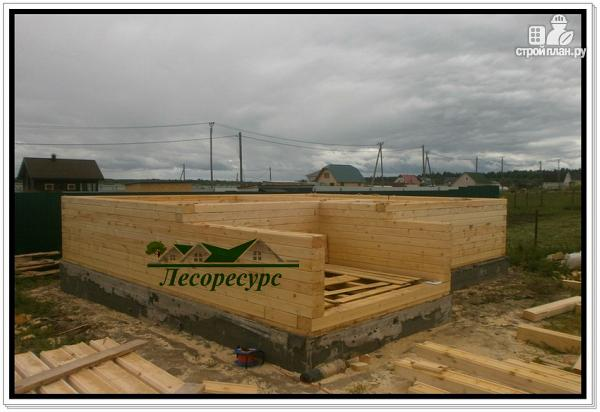 Фото 15: проект баня дом из бруса