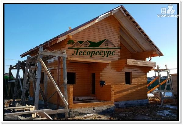 Фото 19: проект баня дом из бруса