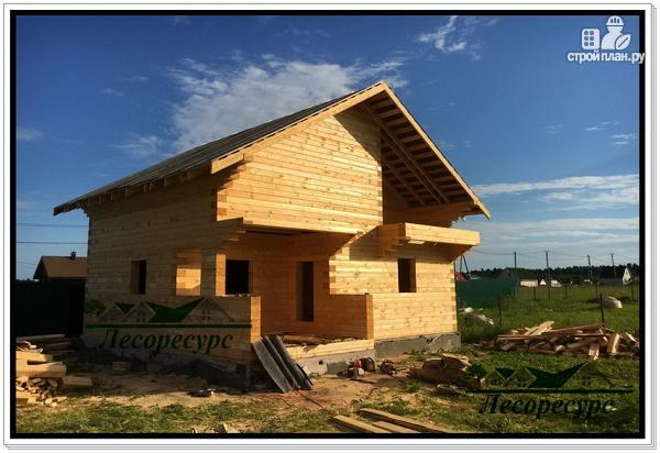 Фото 8: проект баня дом из бруса