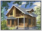 Проект дом 8,7 × 8,8