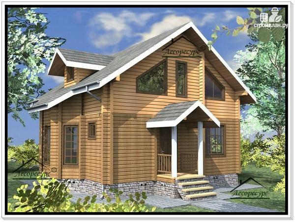 Фото 4: проект дом 8,7 × 8,8