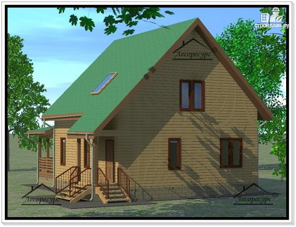 Фото 4: проект дом из бруса 9×11