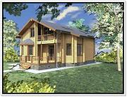 Проект дом из бруса 10х17