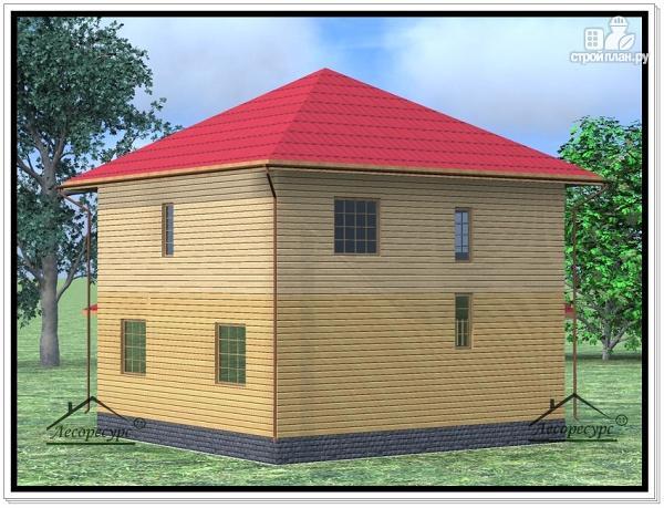 Фото 4: проект дом из бруса 9 × 11