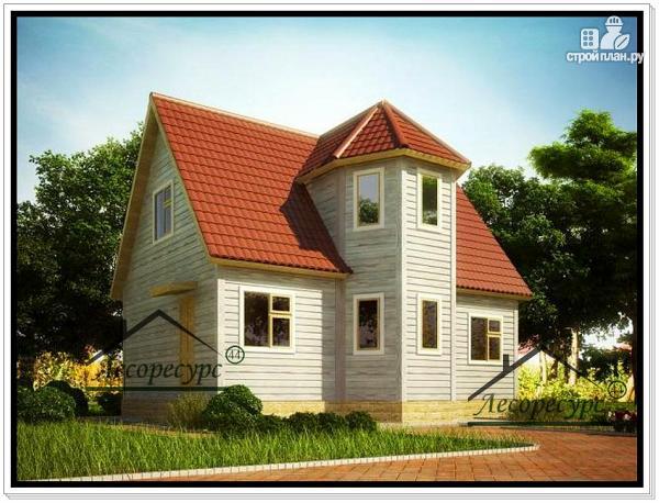 Фото: проект дом из бруса 6×9