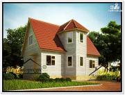 Проект дом из бруса 6×9