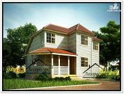 Фото: загородный дом из бруса