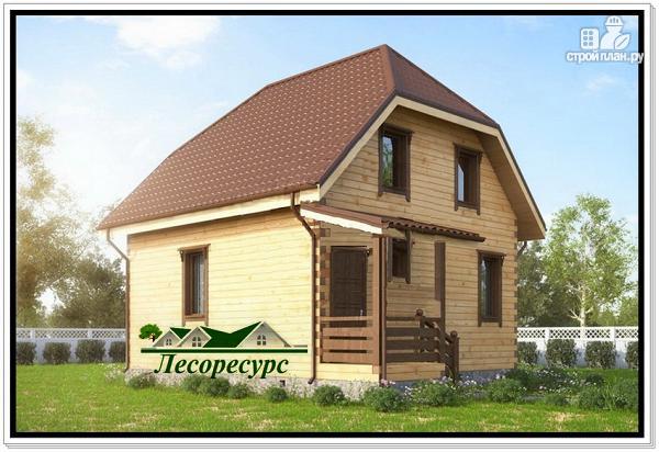 Фото 3: проект дом с эркером 7х8