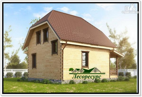 Фото 4: проект дом с эркером 7х8