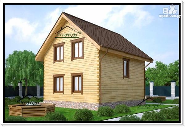 Фото 4: проект дом для маленького участка