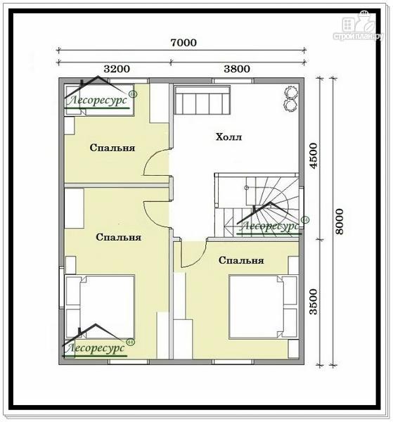 Фото 6: проект дом для маленького участка