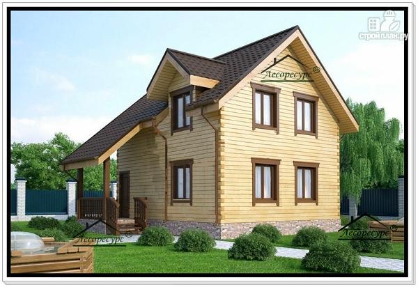 Фото 2: проект дом для маленького участка