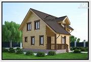 Проект дом для маленького участка