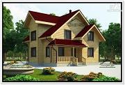 Проект дом 9 на 10 из бруса