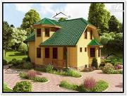 Проект дом из бруса 7 на 9