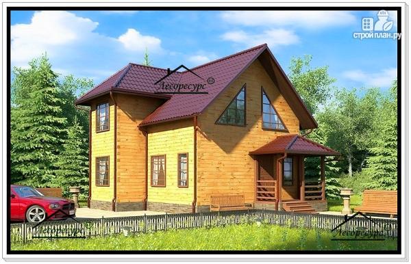 Фото: проект небольшой загородный дом