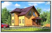 Фото: небольшой загородный дом