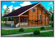Фото: дом с открытой террасой