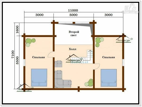 Фото 4: проект дом для постоянного проживания