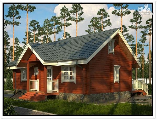 Фото 2: проект дом для постоянного проживания