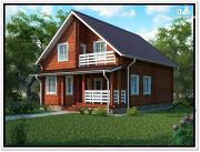 Проект дом 9 на 12 с мансардой