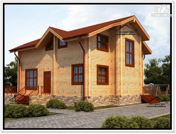 Фото 4: проект дом 10х13 из бруса