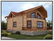 Проект дом 10х13 из бруса