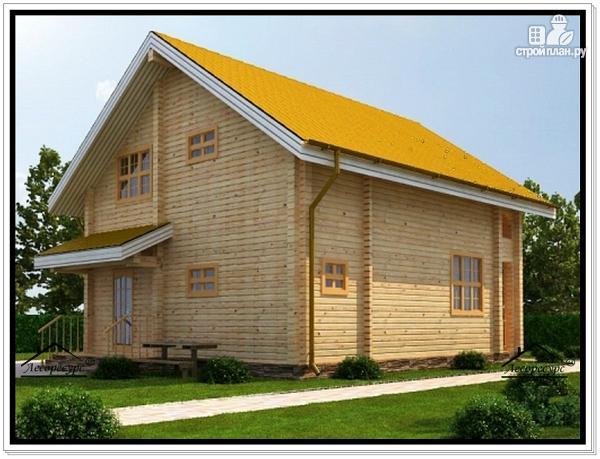 Фото 4: проект дом 7 на 10 с мансардой