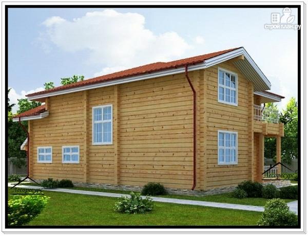 Фото 4: проект дом 10 на 13 из бруса