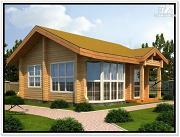 Проект дом 7 на 7 из бруса