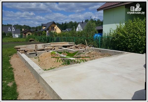 Фото 10: проект баня с комнатой отдыха и террасой