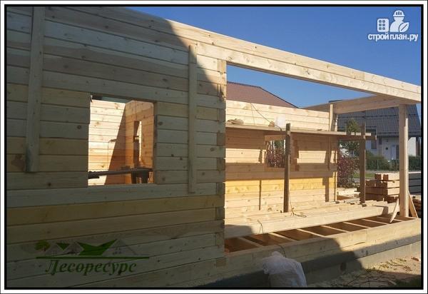 Фото 6: проект баня с комнатой отдыха и террасой