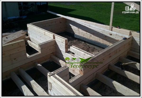 Фото 9: проект баня с комнатой отдыха и террасой