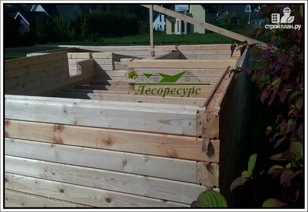 Фото 8: проект баня с комнатой отдыха и террасой