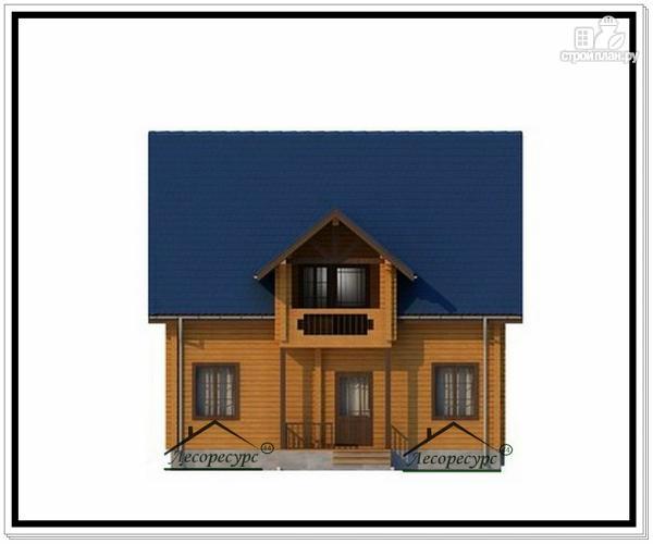 Фото 5: проект деревянный дом из бруса