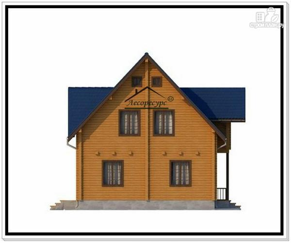 Фото 3: проект деревянный дом из бруса