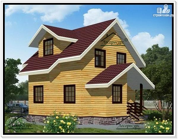 Фото: проект дом с мансардным этажом