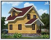 Фото: дом с мансардным этажом