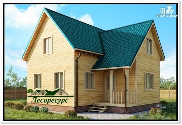 Фото: проект дом с мансардой