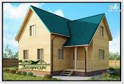 Проект дом с мансардой