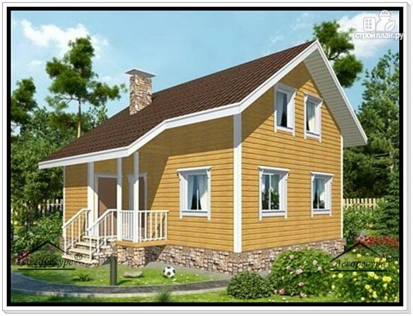 Фото: проект небольшой дачный дом