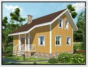 Фото: небольшой дачный дом